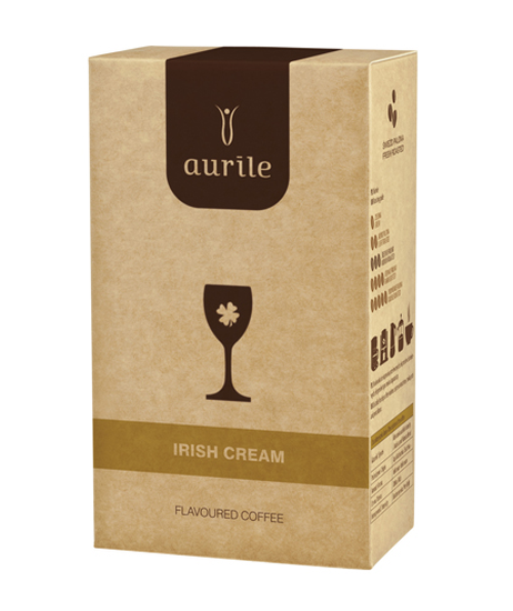 IRISH CREAM mletá káva s příchutí Irish cream